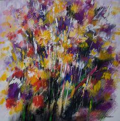 Mario Zampedroni, Flores abstractas, 2010. http://www.zampedroni.com/2010/floral-abstraction-acrylic-canvas-2010/# flore en, flore abstracta, las flore