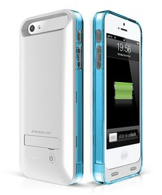 Never worry about a dead battery again thanks to this protectiveiPhone5/5s battery case.