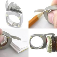 (83) Fancy - The Man Ring Titanium Utility Ring