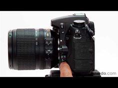 lynda.com tutorial | Shooting with the Nikon D7000—Focus modes