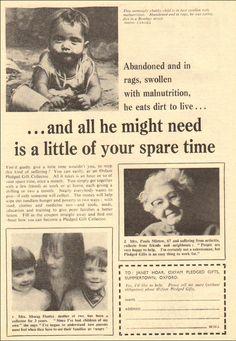 Oxfam. 16 April, 1965.