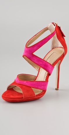 LOVE these Aquazzura Suede Sandals #MallyTrends