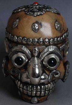 Tibetan Skull ~ Monsters4Ever.com