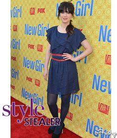 Style Stealer: Zooey Deschanel's Flirty Frock