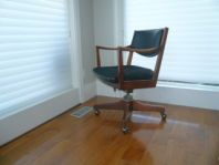 Vintage Gunlocke Office Arm Chair