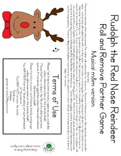 Free Rudolph Roll and Remove