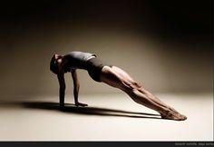 Backwards plank