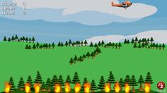 Forest Fighter ($0.00) a fun cause and effect game. In this game, a forest fire is suddenly raging out of control. Use simple tap or an external switch to drop water droplets on the fire to save the forest. Fun for all children, with additional features to help children with special needs. Fully customizable settings can adjust game options based on the skill level of the child. touch the screen to play or use an external switch connected through a Bluetooth switch interface.