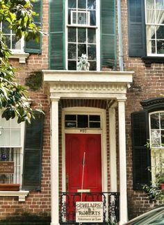 Doors of Savannah's Historic District