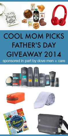 We're so excited to give away more than $900 worth of truly awesome gifts for dad. (Unless you keep them yourselves.)