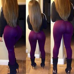 ok here's a lil note for you gals out there: if your ass is a fairly decent size, DO NOT wear skin tight leggings as pants.