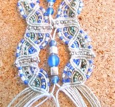 Macrame Bracelet – Do Magic With Double Half Hitches And Beads – Part Two