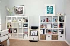 clean organization makes for a more productive office!