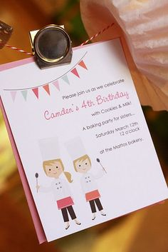 Cookie birthday party....what a cute idea!