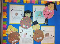 paper cooki, classroom, templates, robert munsch activities, cookies, author studi, writing activities, teach idea, second grade