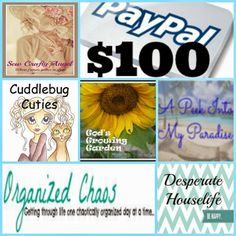 Sew Crafty Angel: $100 Paypal Giveaway