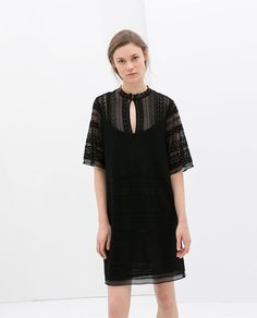 Crochet Dress by ZARA