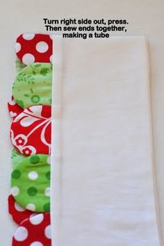 Border - I would love to edge a baby quilt with this scalloped border