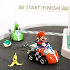 The Mini Mario R/C Kart Racing Will Allow You To Race In Full Power Using Your ... Desk As Racing Track! http://coolpile.com/gear-magazine/the-mini-mario-rc-kart-racing-will-allow-you-to-race-in-full-power-using-your-desk-as-racing-track/ via CoolPile.com - $25.60 -  Cool, Firebox.com, Nintendo, Remote Control, Super Mario, Toys