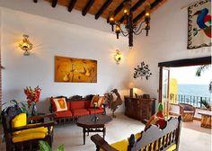 I love Mexican inspired interior design!