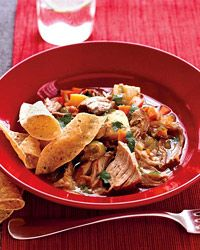 Pork and Tomatillo Stew Recipe on Food & Wine