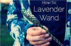 lavender wand tutorial