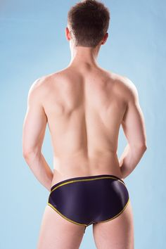 Dietz - Slip Swimsuit BA - Back - www.johnnybeachbuns.com
