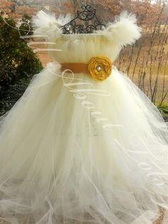 OMG yes! flower girl tutu dress!