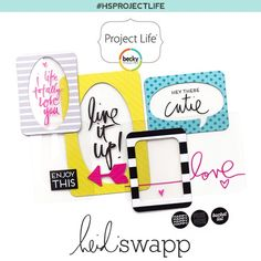 Hello. I'm a Paper Addict: Heidi Swapp Project Life Products at Michaels
