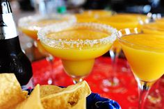 Mango margaritas?? Yes, please!!!