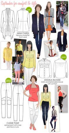 September for comfort & style #wardrobechallenge