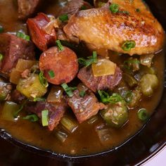 Spicy Gumbo Michael Symon