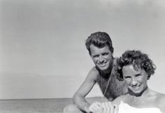 Robert F. Kennedy and Ethel Kennedy in Hawaii in 1950. Photo Credit: Rory Kennedy/courtesy HBO bobbi kennedi, robert kennedi, camelotth kennedi, kennedi famili, camelot addit, ethel kennedi