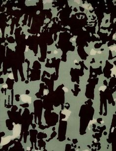 print textil, luli sanchez, pattern, art, scene, lourd sanchez, motif