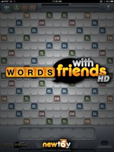 Words With Friends on Facebook