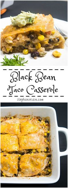 Black Bean Taco Cass