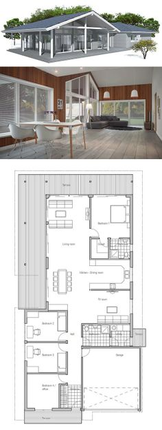 House Plan From Single Story Home Plan More