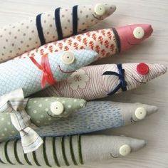 Sardine softies by Flora Douville