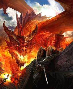Red Dragon Art