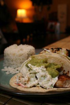Baja Fish Taco...simply and healthy