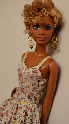 Savi- Barbie Basics (Target Exclusive) Repaint OOAK Barbie by Doll Anatomy by Gypsy X, via Flickr