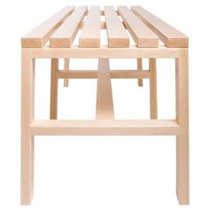 Staach - Cain Slatted Bench 2 #2Modern
