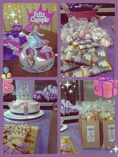 cumpleaños/birthday princesa/princess Sofia