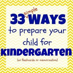 Preparing for kindergarten.... great list to give to parents signing up for school in the spring.....