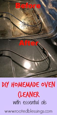 DIY Chemical-Free Oven Cleaner using Young Living Essential Oils