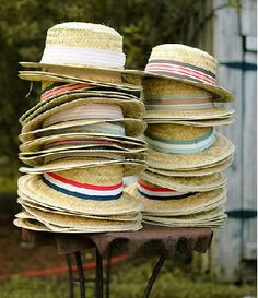 Outdoor occasion? Hats as favors