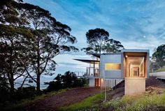 Contour House immersed on Berry Mountain