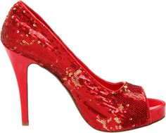 Women's 415-Flamingo Red Bridal Pump by Ellie Shoes