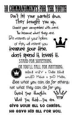 ten commandments on pinterest ten commandments 10