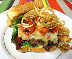 Glorys Tex-Mex Grilled Mama Jama Burger-please show my burger some love Thanks  sw☺